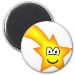Shooting star emoticon   fridge_magents_magnet
