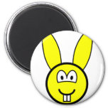 Rabbit buddy icon   fridge_magents_magnet