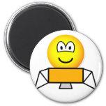 Lunar module emoticon   fridge_magents_magnet