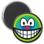 Psychedelic smile   fridge_magents_magnet