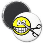 Cut smile scissors  fridge_magents_magnet