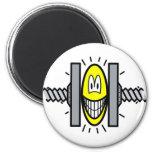 Stressed smile Under pressure  fridge_magents_magnet