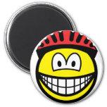Biker smile   fridge_magents_magnet