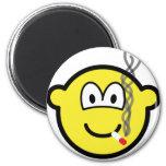 Smoking buddy icon   fridge_magents_magnet