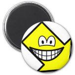 Down right smile arrow  fridge_magents_magnet