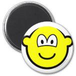 Bald buddy icon   fridge_magents_magnet