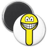 Key hole smile   fridge_magents_magnet