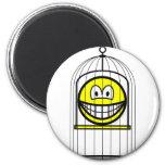 Caged smile   fridge_magents_magnet