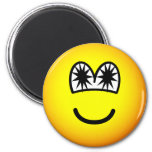 Star eyed emoticon   fridge_magents_magnet