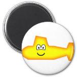 Submarine emoticon   fridge_magents_magnet