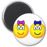 Twins emoticon   fridge_magents_magnet