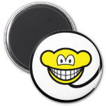Web monkey smile   fridge_magents_magnet