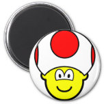 Toad buddy icon video game  fridge_magents_magnet