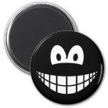 Black smile   fridge_magents_magnet