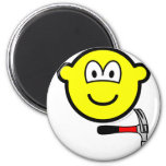 Hammer and nail buddy icon   fridge_magents_magnet