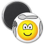 Cutlery emoticon   fridge_magents_magnet
