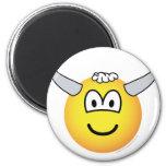 Bull emoticon   fridge_magents_magnet