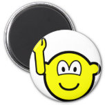 Question buddy icon raised hand   fridge_magents_magnet