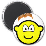 Wig losing buddy icon   fridge_magents_magnet