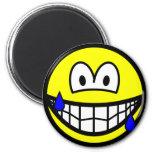 Nervous smile Sweating  fridge_magents_magnet