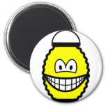 Japanese lantern smile   fridge_magents_magnet