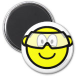 Safety goggles buddy icon   fridge_magents_magnet