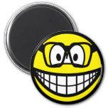 Eric Morecambe smile   fridge_magents_magnet
