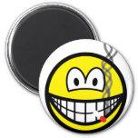 Smoking smile   fridge_magents_magnet