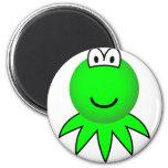 Kermit the Frog emoticon   fridge_magents_magnet