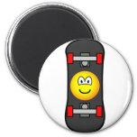 Skateboard emoticon   fridge_magents_magnet