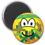 Camouflage emoticon   fridge_magents_magnet