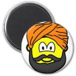 Sikh buddy icon   fridge_magents_magnet