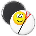 Lacrosse emoticon   fridge_magents_magnet