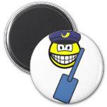 Postman smile   fridge_magents_magnet