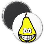 Pear smile   fridge_magents_magnet
