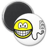 Unplugged smile Sad  fridge_magents_magnet