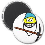 Bashfull smile Seven Dwarves  fridge_magents_magnet