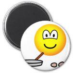 Frying emoticon   fridge_magents_magnet