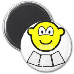 Face sun reflector buddy icon   fridge_magents_magnet