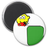 Hedge trimmer buddy icon   fridge_magents_magnet