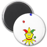 Juggling buddy icon jester  fridge_magents_magnet