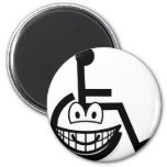 Wheelchair buddy icon Sign  fridge_magents_magnet