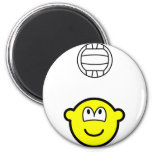 Volleyball playing buddy icon   fridge_magents_magnet