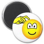 Head scratching emoticon   fridge_magents_magnet