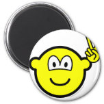 Peace hand buddy icon   fridge_magents_magnet