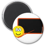 Teacher emoticon Black board  fridge_magents_magnet