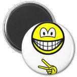 Scissors smile rock - paper - scissors  fridge_magents_magnet