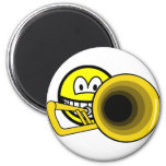 Trombone smile   fridge_magents_magnet