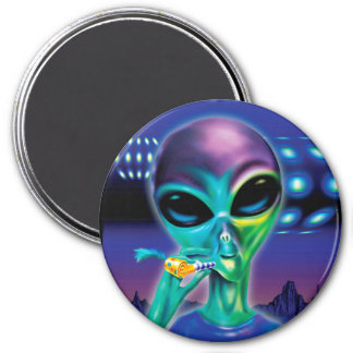 Fridge Magnet Alien take me to your Party