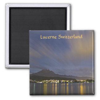 Fridge Magnet Lucerne Switzerland Mount Pilatus
